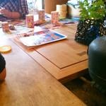 田畑茶店 - テーブル席