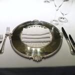 銀座 ハプスブルク・ファイルヒェン - テーブルセッティング