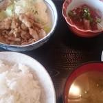 大鵬食堂 - 料理写真:日替り定食