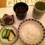 割烹 まつもと - ご飯(2015,5)