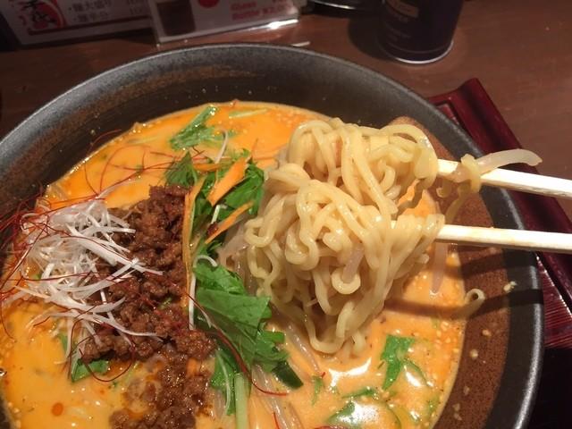 虎千代 - 担担麺(830円)