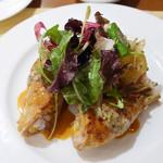 カーヴ・デ・ヴィーニュ - ほろほろ鶏もも肉のロースト