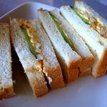 ハーバーカフェ - 玉子サンド