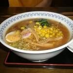 浜田屋 - 味噌ラーメン 750円
