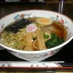 浜田屋 - ラーメン 650円