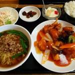 久香亭 - 酢豚定食