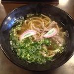 釜あげうどん 太郎 - 肉うどん(550円)