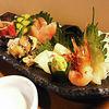 さと水 - 料理写真:看板メニュー「お刺身の江差盛り」これだけ盛って1500円