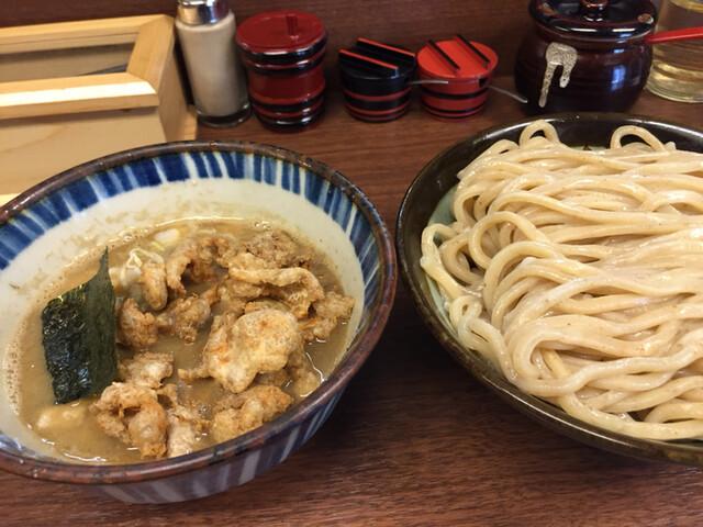 三三七 - 煮番搾り 中盛 鶏皮トッピング