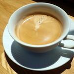 海の宇宙館 喫茶コーナー - ヨーロピアンコーヒー(300円)