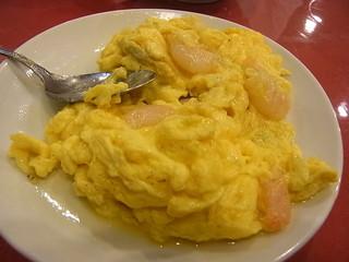 慶華楼 - 卵と海老がマッチング