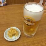 天丼てんや - 生ビール♡