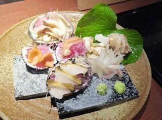 菊花 - 貝類盛り合わせ