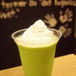 ポーズ カフェ - フローズン 抹茶クリーム