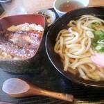 めんくいや 群 - 鰻丼セット(1970円)