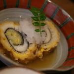 蕎麦の実 よしむら - おばんざい3品のうちのひとつ 鱧のお料理 おいしい