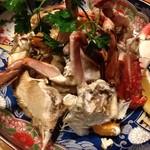 銀杏釜めし - 川蟹
