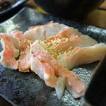 日本酒肉バル 市場レストラン うどん虎 - 金目鯛のあぶり