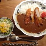 とり田 - 水炊きスープで作る 『チキンカツカレー』(大盛り)(\1,160)
