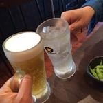 すず庵 - 乾杯!