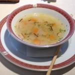 ミュージアムカフェ - 野菜のコンソメスープ