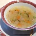 ミュージアムカフェ - 野菜の甘みが感じられる野菜スープ