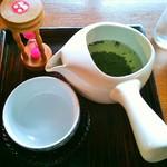 cafeうえまる - 川根茶