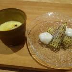 Obase - ☆ヤングコーンとモッツァレラチーズにトウモロコシのスープ☆