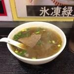 永祥生煎館 - H27.6 カレースープ