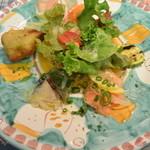 トラットリア アルベロ - セットの前菜