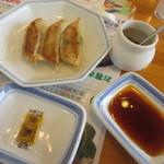 リンガーハット - 料理写真:餃子3個
