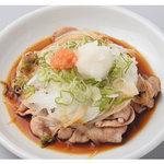 世界の山ちゃん - 炒めた豚肉のポン酢がけ。【豚ポン】 520円