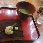 苔筵 - 【抹茶/菓子付(500円)】