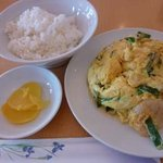 3943952 - 海老と卵の炒め物 ランチ