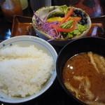 米寿 - 竈炊きのご飯