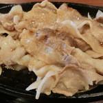 松山食堂 - あぐーしょうが焼き