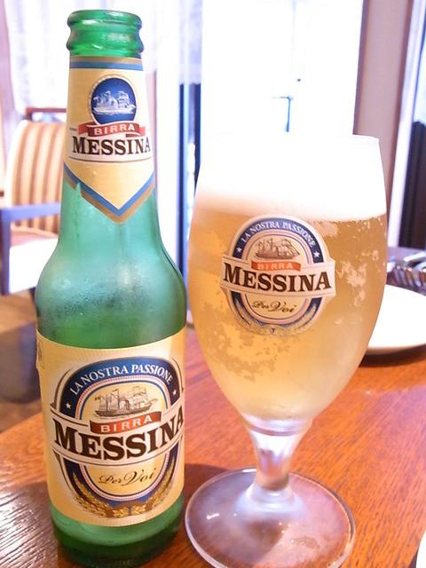 nanpeidai  Grazie - メッシーナ¥600(税別) イタリア・シチリアのビールです☆♪