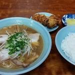 光来 - ラーメン定食 700円