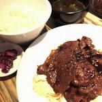 江戸堀BEEF - 牛肉の生姜焼き