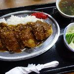 にく友食堂 - ひれかつカレー 1300円