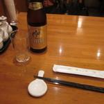 39445383 - 瓶ビールで・・