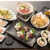心寿し - 料理写真:<宴会コース>3名様より呑み放題付き5000円(90分間、お食事の時間制限はございません。  サービス料、お席代はいただきません。