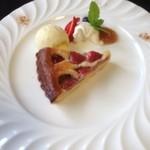 備屋珈琲店 - 季節のケーキセットのケーキ