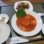 中国料理 なすの華 - なすの華セット(これにサラダとスープが付きます)