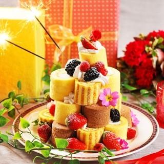 誕生日のお客様必見!豪華デザートプレートを無料でプレゼント♪