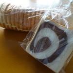 ポポロ - ラウンドとマーブル食パン