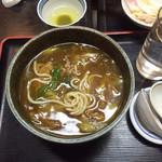 椿寿亭 - カレーうどん食べさしですみません!これ大好物