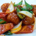 菜香 - 酢豚(単品注文サイズS)
