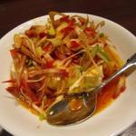 39453485 - チャーシューと豆腐の冷菜