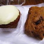 カメラ - キャロットケーキ、チョコチップ